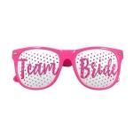 Pink TEAM BRIDE Eyeglasses