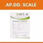 ใบ Certificate เครื่องชั่งดิจิตอล ขนาดน้ำหนักชั่ง 100 กิโลกรัม ใบ Certificate เครื่องชั่งจากเอกชน