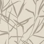 วอลเปเปอร์ลายใบไม้ ใบหญ้าสีน้ำตาล