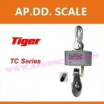 เครื่องชั่งดิจิตอล เครื่องชั่งแขวน 20ตัน ความละเอียด 10kg พร้อมรีโมทคอลโทรล รุ่น TIGER -TCB-01