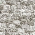 วอลเปเปอร์ลายหินผิวขรุขระน้ำตาลปนเทา