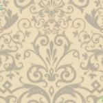 versace wallpaper ลายใบไม้พื้นครีม