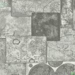 วอลเปเปอร์ลายตัวอักษร แผนที่โลกสีเทา ดำ
