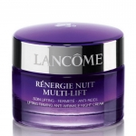 (ขนาดทดลอง): LANCOME Renergie Nuit Multi-Lift Lifting Firming Anti-Wrinkle Night Cream 15ml