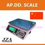 ตาชั่งดิจิตอล เครื่องชั่งดิจิตอล ตาชั่ง JZA Electronic-weighing scale เครื่องชั่ง 3.0kg ความละเอียด 0.1g มีแบตเตอรี่ชาร์ทได้ยี่ห้อ JZA รุ่น JZA LCD-3kg/0.1g