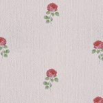 Wallpaper วินเทจดอกกุหลาบแดงพื้นชมพู