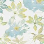 Wallpaper ลายดอกไม้สวยๆสีฟ้าปนเขียว