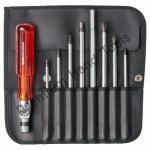 ไขควงชุด PB Swiss Tools รุ่น PB 227 แกนไขควงปากแฉก และหกเหลี่ยม ด้ามงอได้ (9 ตัว/ชุด)