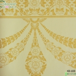 wallpaper ลายไทยห้องพระ ลายอุบะเฟื่องสีทอง