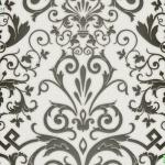 versace wallpaper ลายใบไม้สีดำ