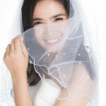 *BESTSELLER* Bridal Veil with Pearls (2 Layers)