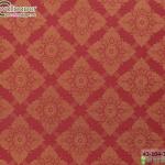 wallpaper ลายไทยห้องพระ ลายประจำยามสีแดงเข้ม