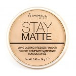 RIMMEL STAY MATTE Long Lasting Pressed Powder 14g. #001 Translucent