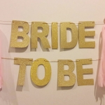 BRIDE TO BE Backdrop 3