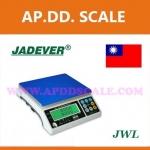 ตาชั่งดิจิตอล เครื่องชั่งดิจิตอล เครื่องชั่งแบบตั้งโต๊ะ 3kg ความละเอียด 0.2g แท่น294x228mm. ยี่ห้อ JADEVER รุ่น JWL II-3KG