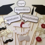 2018 GRADUATION Photo Booth Prop