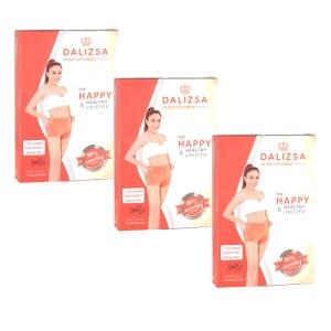 Dalizsa ดาลิสซ่า ผลิตภัณฑ์อาหารเสริมควบคุมน้ำหนัก โดย ดีเจ ดาด้า ตัวช่วย ลดความอ้วน 3 กล่อง 90 แคปซูล