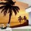 วอลเปเปอร์ภาพวิว ต้นมะพร้าวตอนเย็น(Key West Florida) thumbnail 1