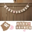 BABY SHOWER Flag (Boy & Girl)