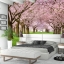 วอลเปเปอร์ติดผนังภาพวิวซากุระ cherry Blossom thumbnail 2