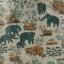 วอลเปเปอร์ลายไทยลายช้างป่า thumbnail 1