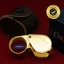กล้องส่องพระ Leika 10x18mm แท้ (บอดี้สีทอง) แบบไม่หุ้มยาง