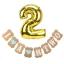 I AM TWO Birthday Set (Balloon + Flag) for Boy