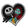 M0047 Jack and Sally 7.5x6.3cm