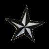 S0100 Road Star 7.8x7.8cm