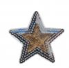 M0030 Sequins Star. 7.6x7.6cm