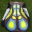 ชุดปั่นจักรยานสั้นปลายแขนและขาแบบเลเซอร์คัต Anti-Slip เอี๊ยม : XP170340 thumbnail 10