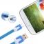 สายชาร์จ Android สายแบน แบบม้วน 1m ราคา 162 บาท/12ชิ้น thumbnail 7