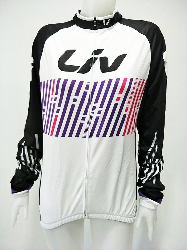 ชุดปั่นจักรยานผู้หญิงแขนยาว : SP160620