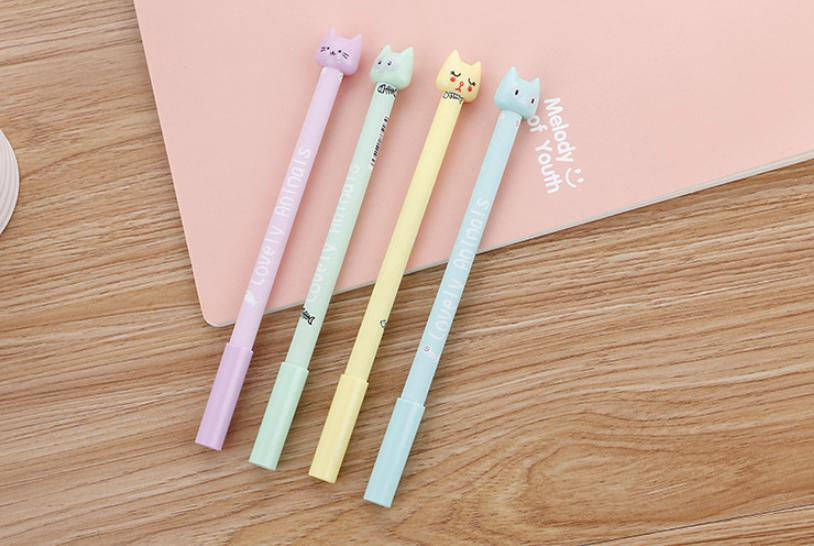 ปากกาหัวแมวน้อย แฟชั่น 72 บาท/แพค 12ชิ้น/แพค
