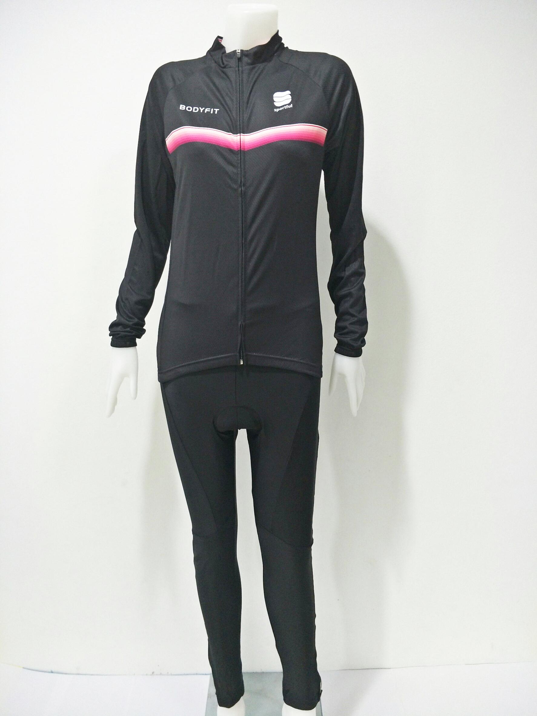ชุดปั่นจักรยานผู้หญิงยาว : XP153070