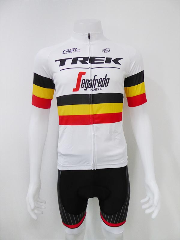ชุดปั่นจักรยานสั้นปลายแขนและขาแบบเลเซอร์คัต Anti-Slip : XP170160