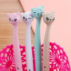 ปากกาหัวแมว แฟชั่น 72 บาท/แพค 12 ชิ้น/แพค