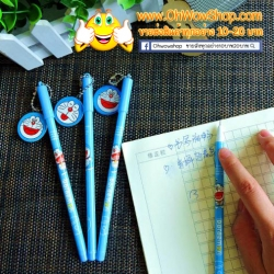 ปากกาห้อยป้ายโดเรม่อน (เจลน้ำเงิน) 144บาท/โหล 12ชิ้น/โหล