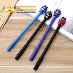 ปากกาแมวฮีโร่ 108บาท/โหล 12ชิ้น/โหล