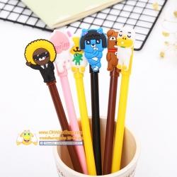 ปากกาตัวสัตว์เกาหลี(คละลาย) 96บาท/โหล 12ชิ้น/โหล