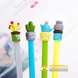 ปากกากระถางกระบองเพชร(เจลน้ำเงิน) 108บาท/โหล 12ชิ้น/โหล