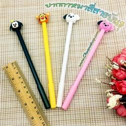 ปากกาหมาสี่สายพันธุ์ ( ไส้สีดำ ) 96 บาท/โหล 12ชิ้น/โหล