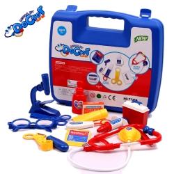 ชุดของเล่นคุณหมอ บทบาทสมมุติ (สีน้ำเงิน)