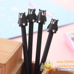 ปากกาเจลตัวคุมะมง (KUMAMON) 120บาท/โหล 12ชิ้น/โหล