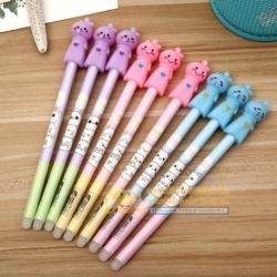 ปากกาหุ่นไล่ฝนลบได้ หลากสี 108บาท/โหล 12ชิ้น/โหล