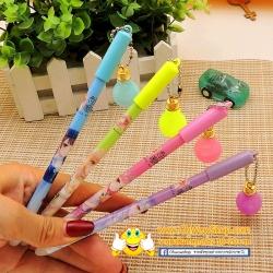 ปากกาเจลลบได้ห้อยหลอดไฟ(เจลน้ำเงิน) ราคา 108 บาท/โหล 12 ชิ้น/โหล