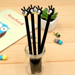 ปากกาคนป่าน่ารัก (เจลดำ) 96 บาท/โหล 12ชิ้น/โหล