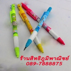 ดินสอ 2 M ลายการ์ตูน 216บาท/แพค 48ด้าม/กล่อง