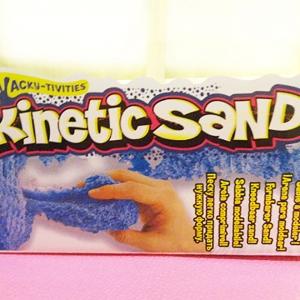 ทรายไฮเทครุ่นใหม่ สีฟ้า Kinetic sand
