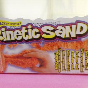 ทรายไฮเทครุ่นใหม่ สีส้ม Kinetic sand